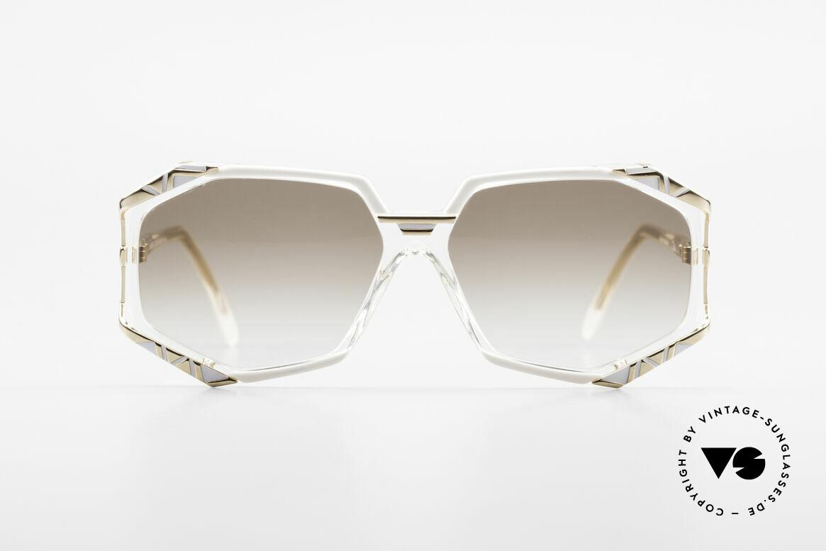 Cazal 355 Spektakuläre 90er Cazal Brille, markante Rahmengestaltung mit grandiosen Farben, Passend für Damen