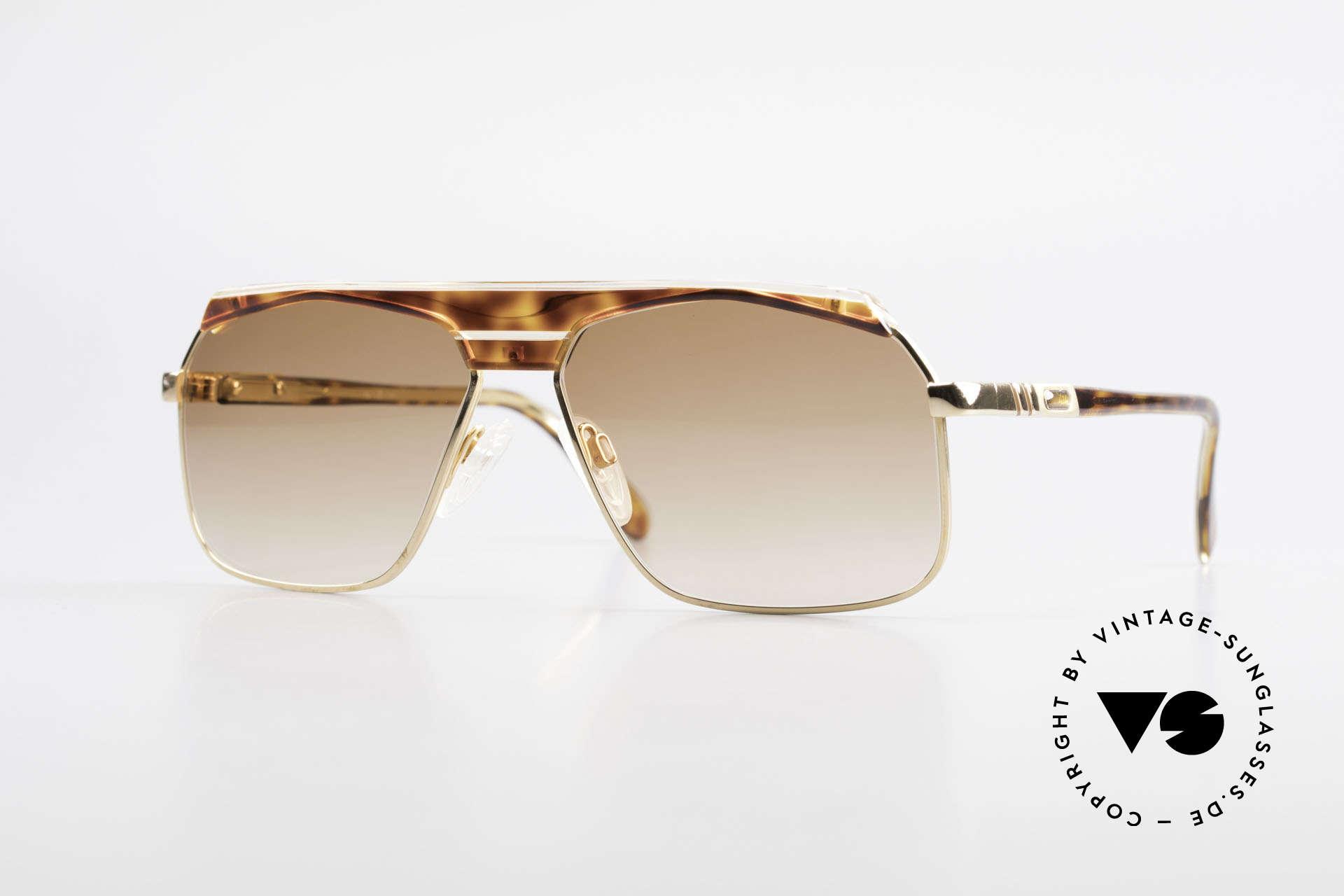 Cazal 730 West Germany Sonnenbrille, klassische vintage Sonnenbrille der 1980er Jahre, Passend für Herren