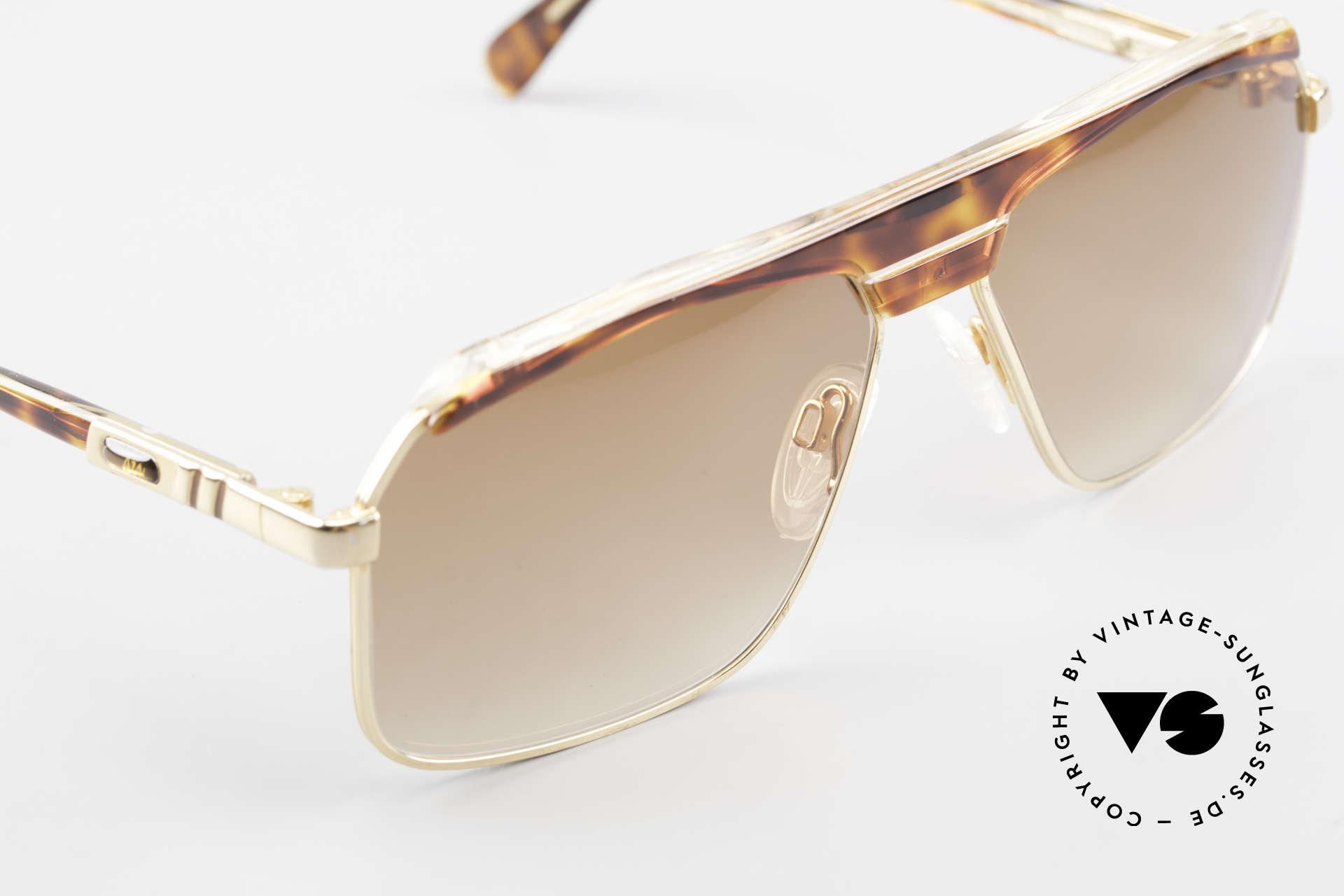 Cazal 730 West Germany Sonnenbrille, ungetragen (wie alle unsere alten CAZAL Brillen), Passend für Herren