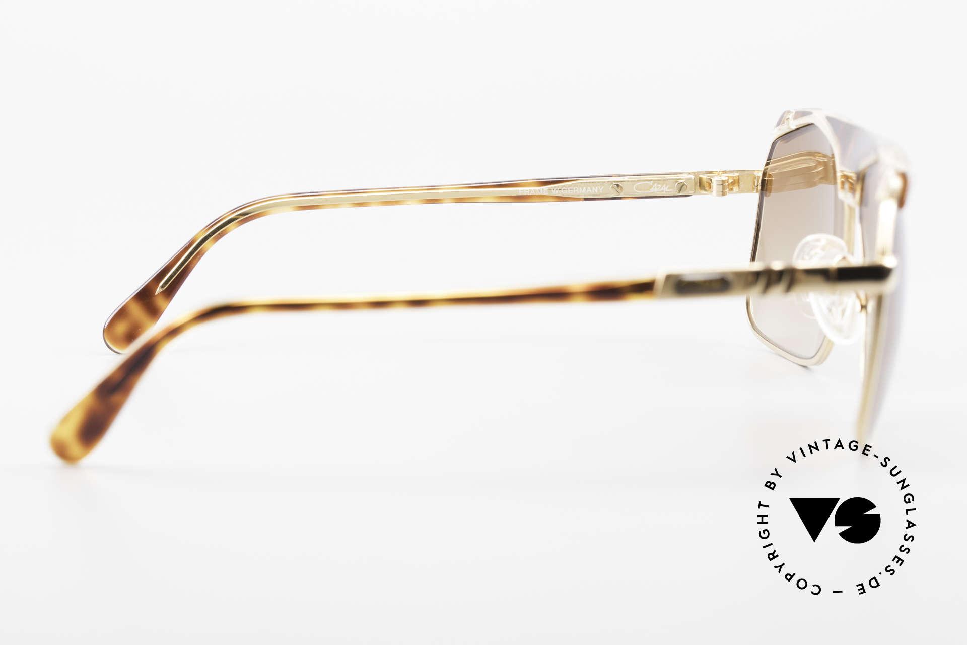 Cazal 730 West Germany Sonnenbrille, Größe: medium, Passend für Herren