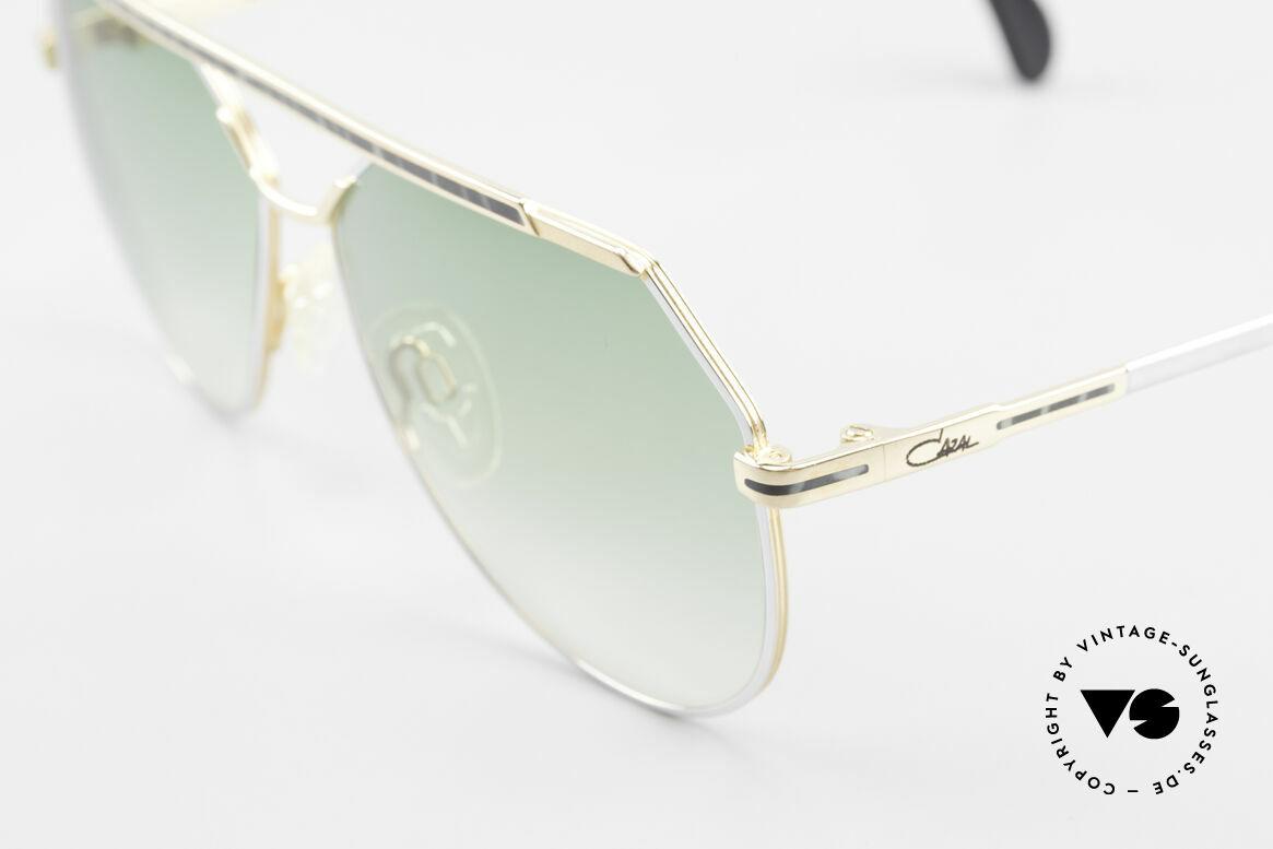 Cazal 733 Goldplattierte Sonnenbrille, ungetragen (wie alle unsere 80er Cazal SonnenBrillen), Passend für Herren