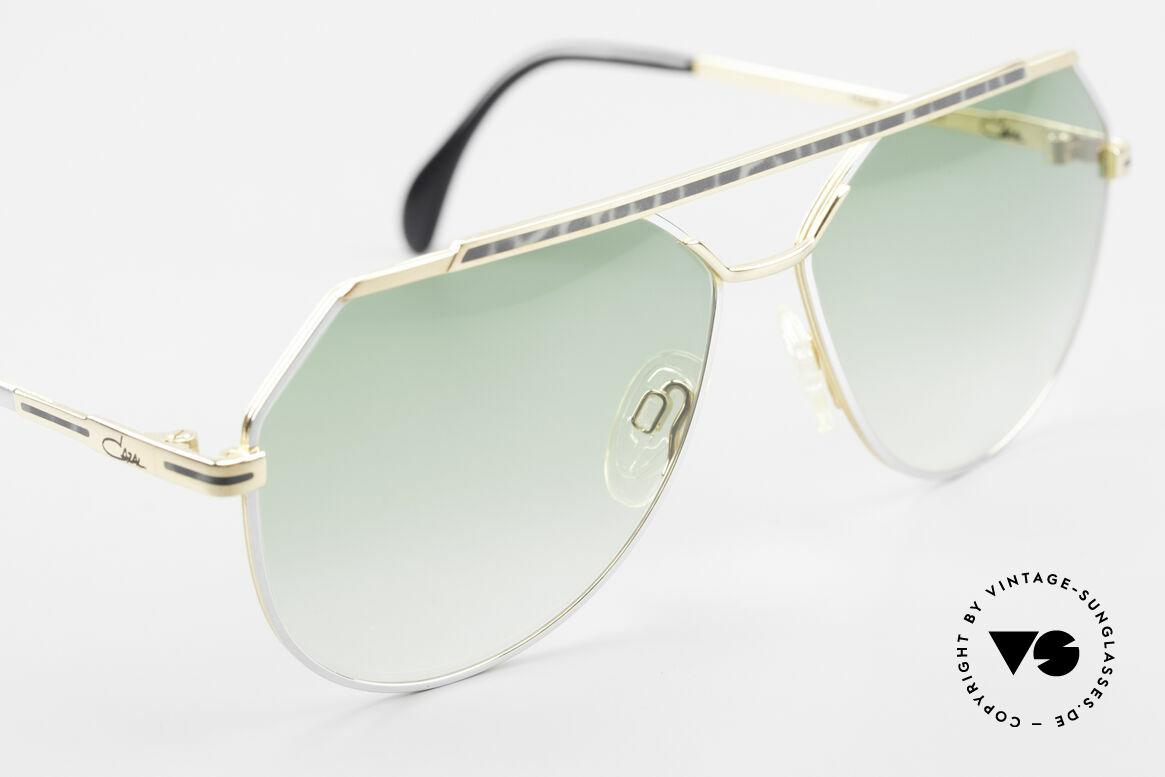 """Cazal 733 Goldplattierte Sonnenbrille, KEINE Retrobrille, sondern ein """"W.GERMANY"""" Original, Passend für Herren"""