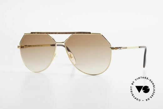 Cazal 733 Alte 80er Piloten Sonnenbrille Details