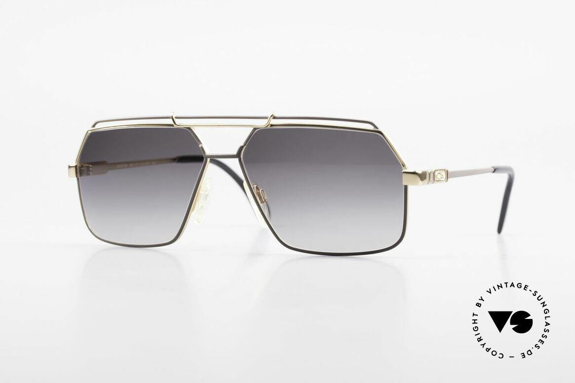 Cazal 734 West Germany Original Cazal, klassische Cazal Herren-Sonnenbrille von 1987/88, Passend für Herren