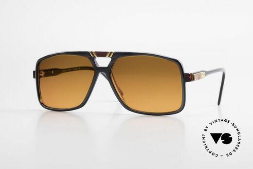 Cazal 637 Echt 80er Hip Hop Sonnenbrille Details