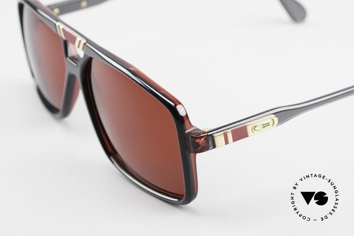 Cazal 637 80er Cazal Sonnenbrille 3D Rot, Gr. 58/13, ungetragen (wie alle unsere Cazals), Passend für Herren