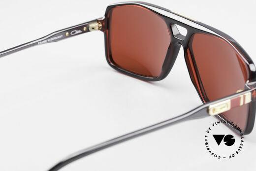Cazal 637 80er Cazal Sonnenbrille 3D Rot, die schrillen Gläser in 3D rot sind austauschbar, Passend für Herren