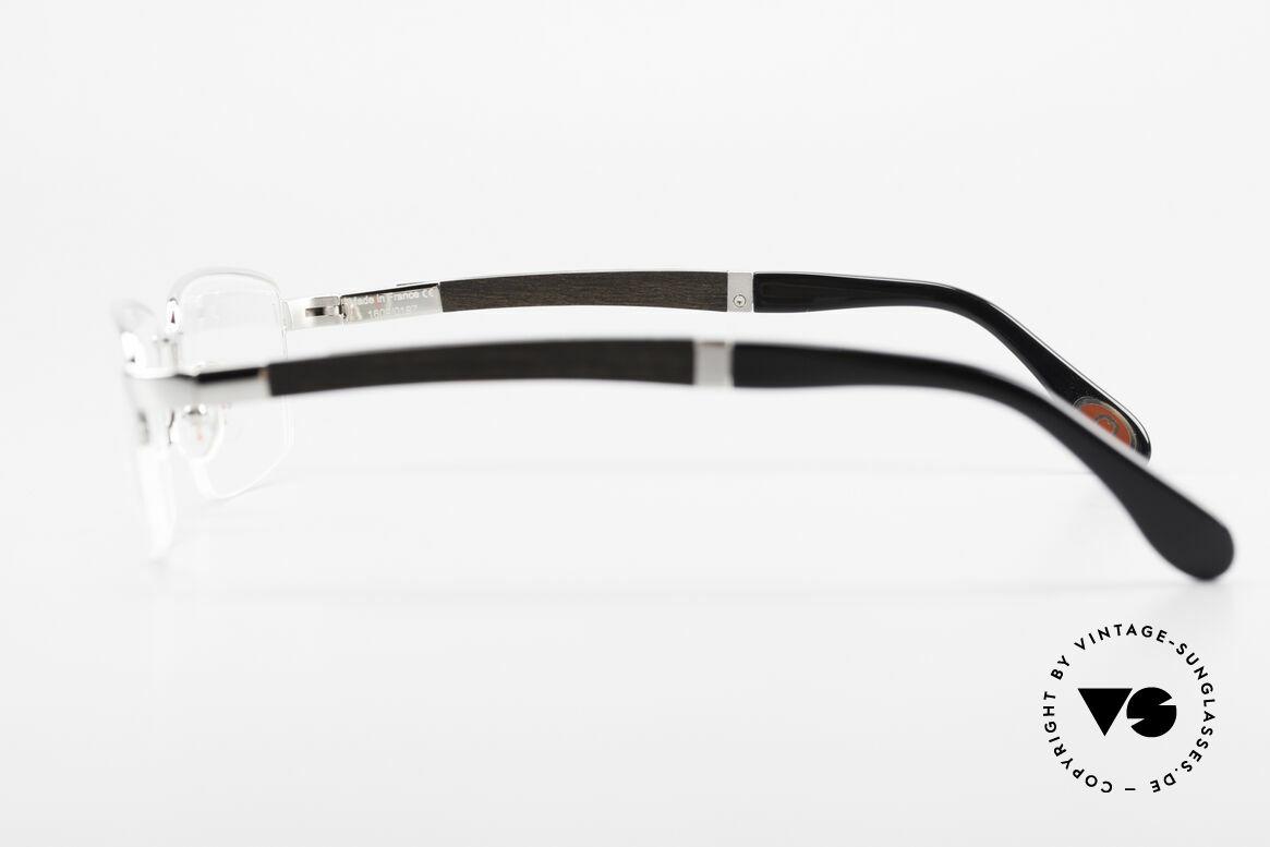 Bugatti 547 Ebenholz Palladium Brille M, Größe: medium, Passend für Herren