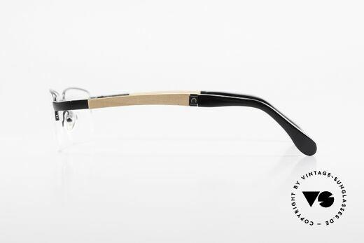 Bugatti 547 Walnussholz Luxus-Brille M, ungetragenes Luxus-Modell; eine Rarität für Kenner, Passend für Herren