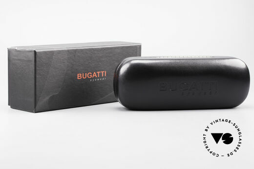 Bugatti 548 Ebenholz Ruthenium Brille M, Größe: medium, Passend für Herren