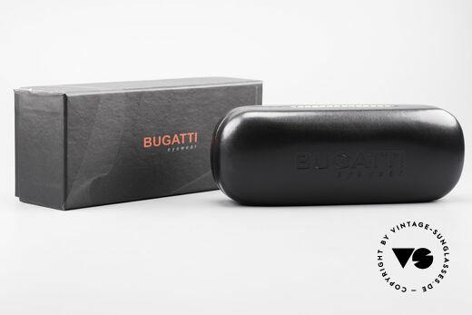 Bugatti 548 Ebenholz Ruthenium Brille L, Größe: large, Passend für Herren