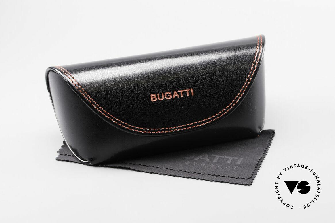 Bugatti 473 Kotibé Tropenholz Gold Brille