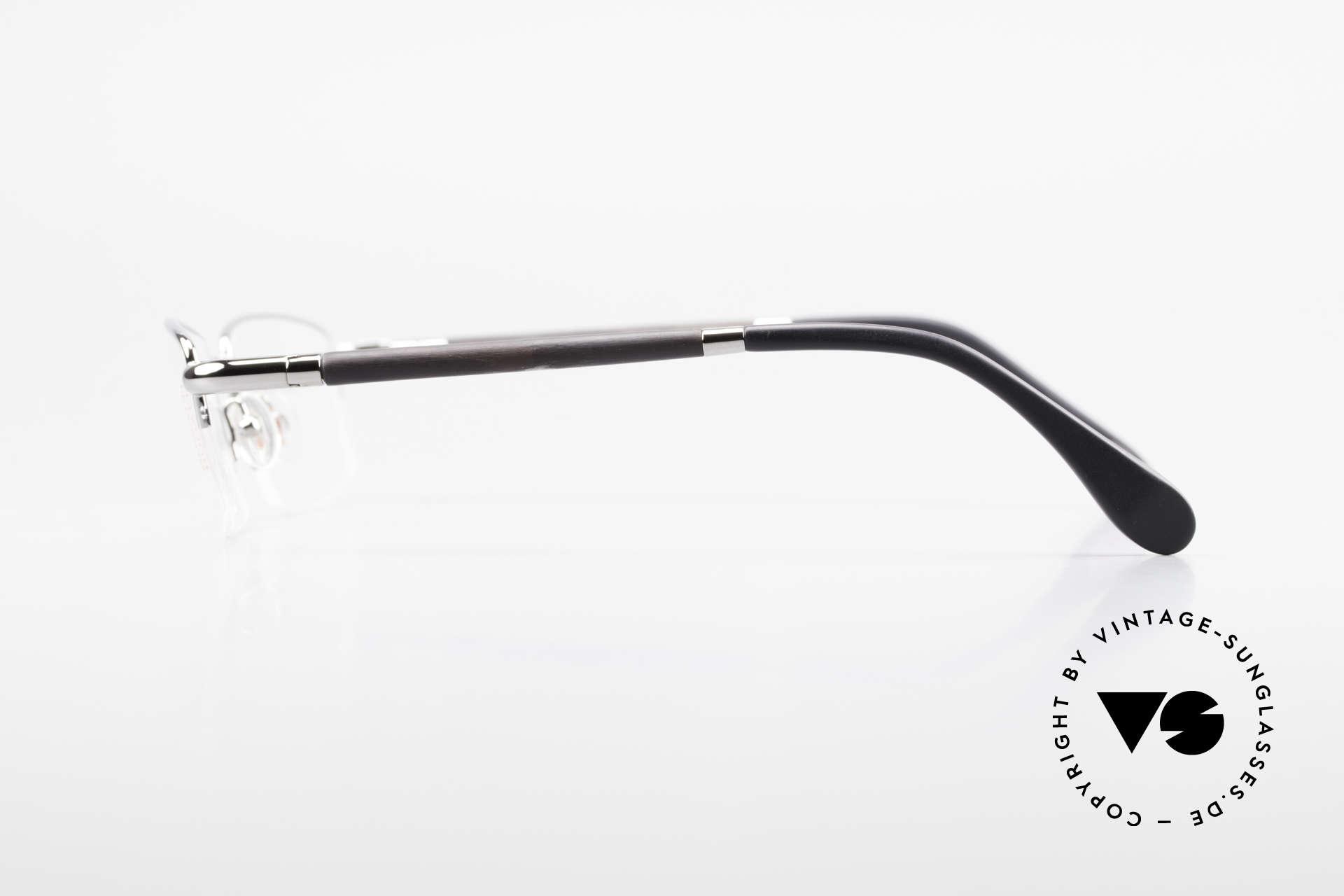 Bugatti 535 Naturhorn Brille Palladium, LIMITED EDITION: gab's damals nur als Kleinstserie, Passend für Herren