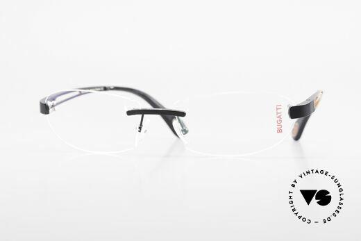 Bugatti 516 Randlose Luxusbrille Herren Details