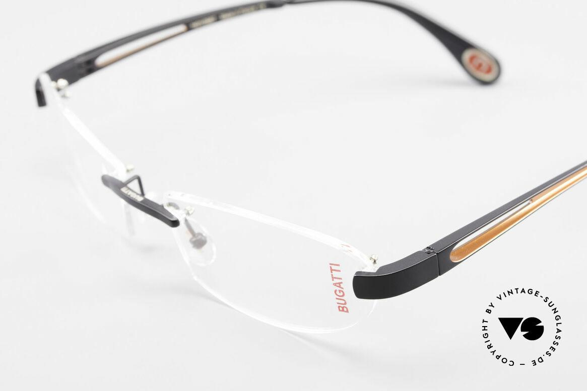 Bugatti 516 Randlose Luxusbrille Herren, ungetragen (wie alle unsere BUGATTI Fassungen), Passend für Herren