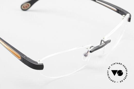 Bugatti 516 Randlose Luxusbrille Herren, KEIN RETRO; ein kostbares ORIGINAL in Gr. 56/18, Passend für Herren