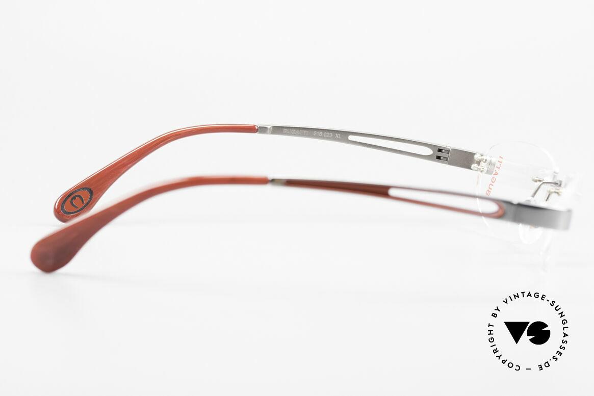 Bugatti 516 Randlosbrille Herrenfassung