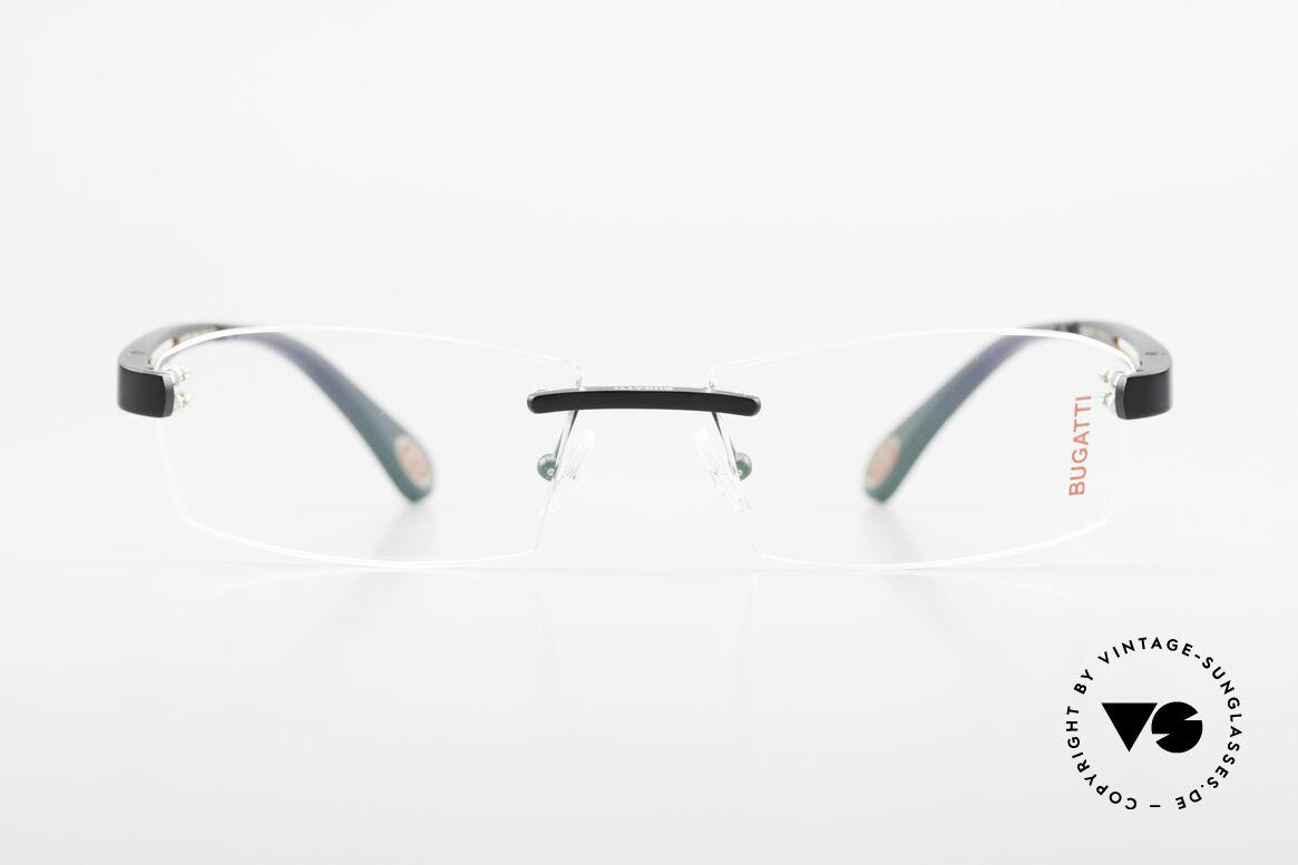 Bugatti 515 Randlose Designerbrille Men, randlose, sportliche Form ... männlich, markant, Passend für Herren