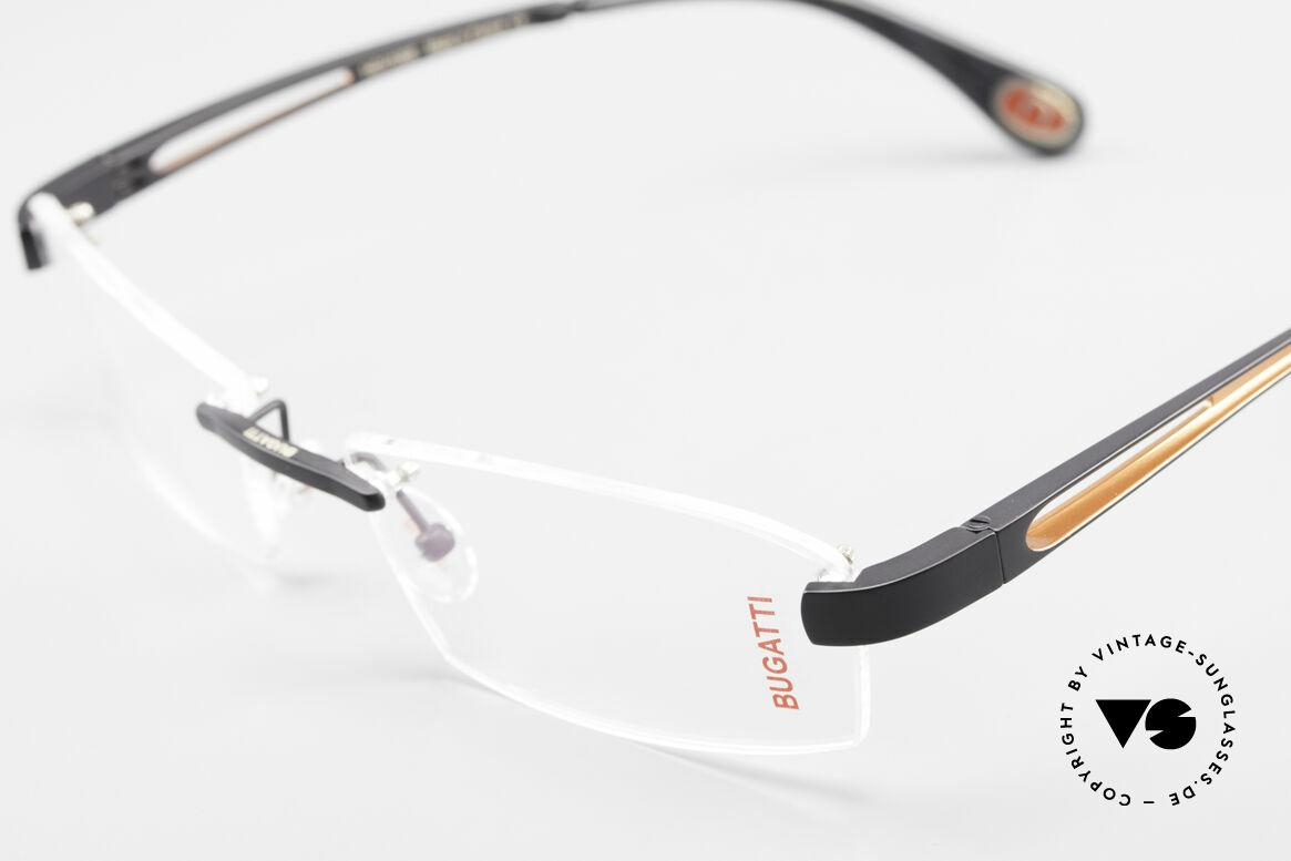 Bugatti 515 Randlose Designerbrille Men, ungetragen (wie alle unsere BUGATTI Fassungen), Passend für Herren