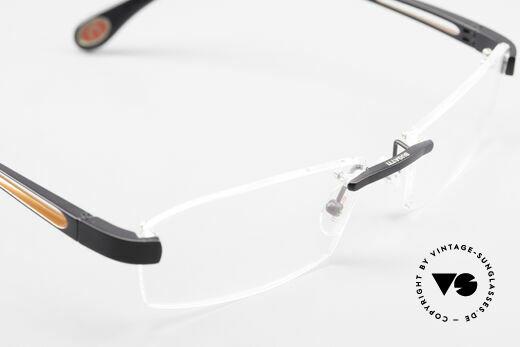 Bugatti 515 Randlose Designerbrille Men, KEIN RETRO; ein kostbares ORIGINAL in Gr. 56/18, Passend für Herren