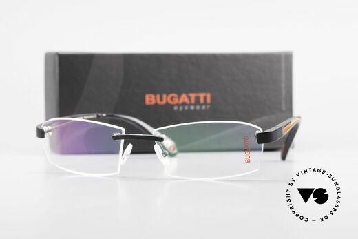 Bugatti 515 Randlose Designerbrille Men, Größe: medium, Passend für Herren
