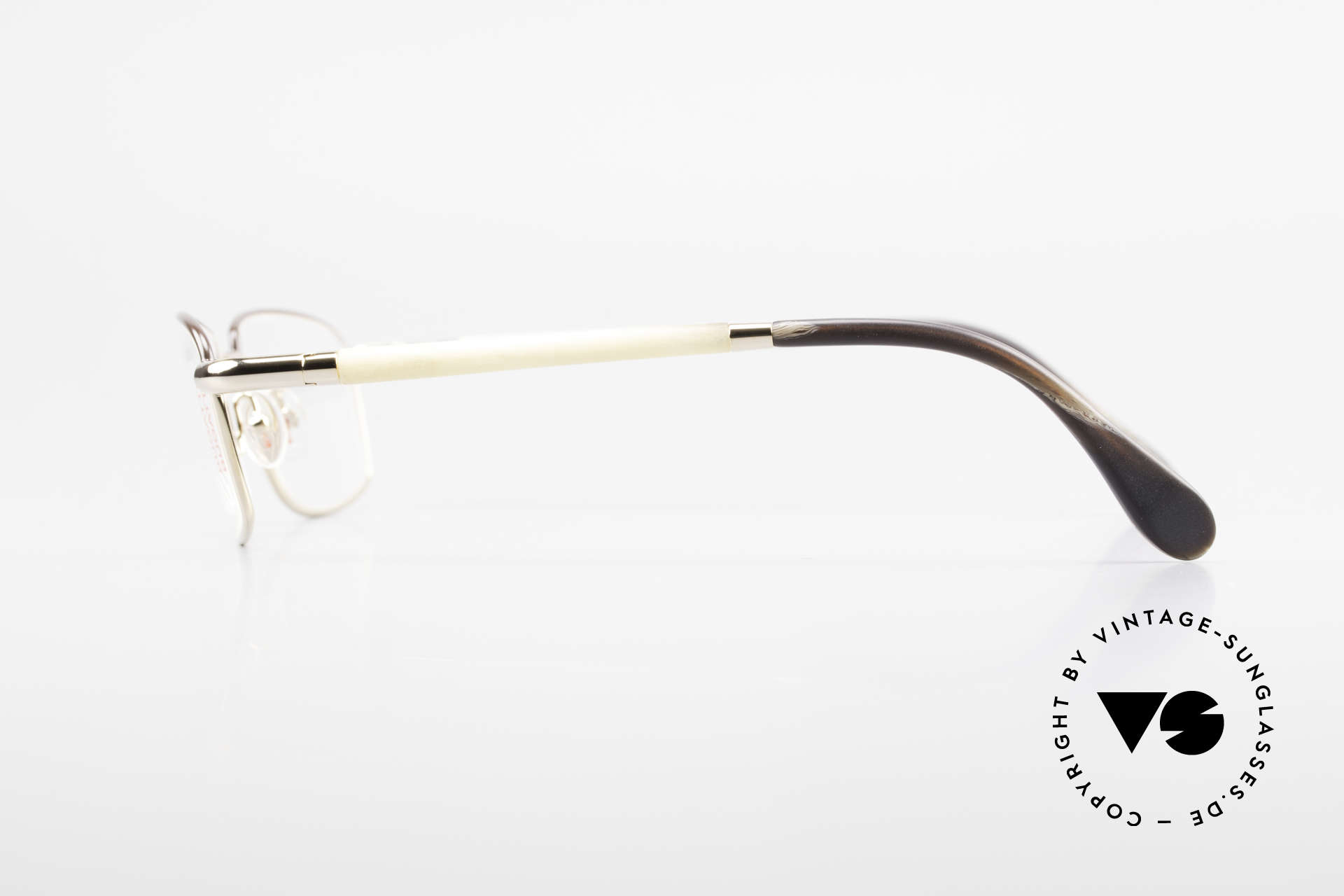 Bugatti 536 Naturhorn Brille Vergoldet, LIMITED EDITION: gab's damals nur als Kleinstserie, Passend für Herren