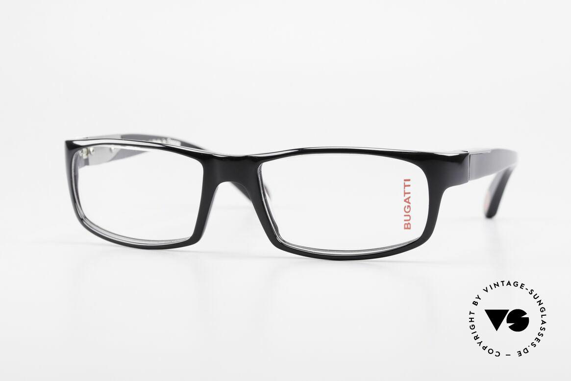 Bugatti 532 Luxus Herrenbrille Klassisch, markante Kunststoff Brillenfassung von Bugatti, Passend für Herren