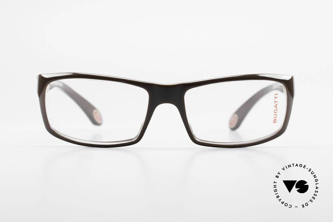 Bugatti 533 Luxusbrille Herren Designer, Premium-Qualität aller Rahmen-Komponenten, Passend für Herren