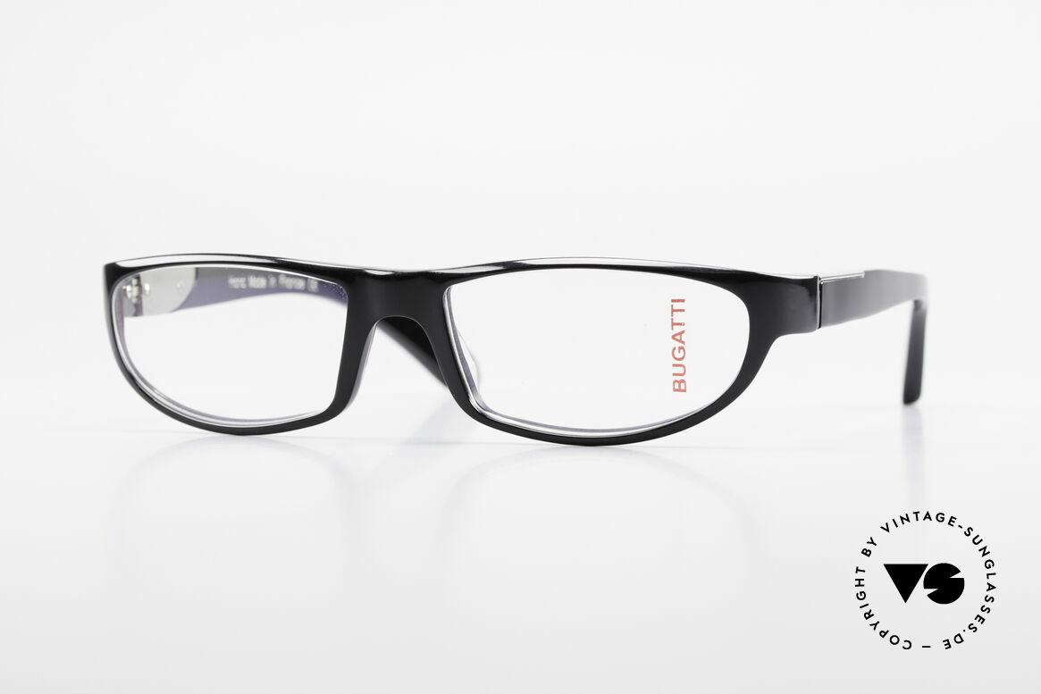 Bugatti 534 Klassische Herrenbrille Luxus, markante Kunststoff Brillenfassung von Bugatti, Passend für Herren