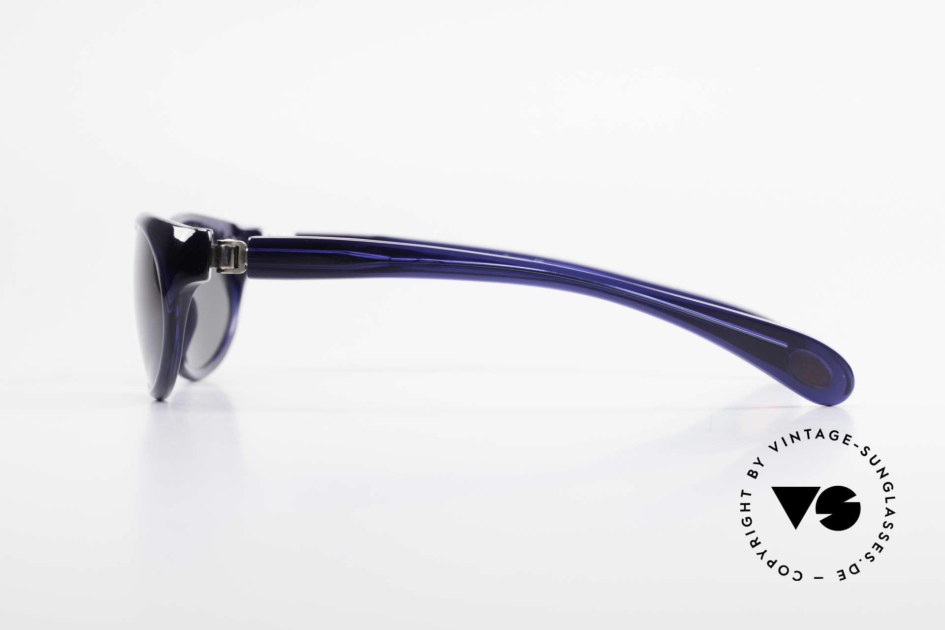 Bugatti 328 Odotype Designer Vintage Sonnenbrille, sehr spezielle Glaseinfassung & Top Komfort, Passend für Herren