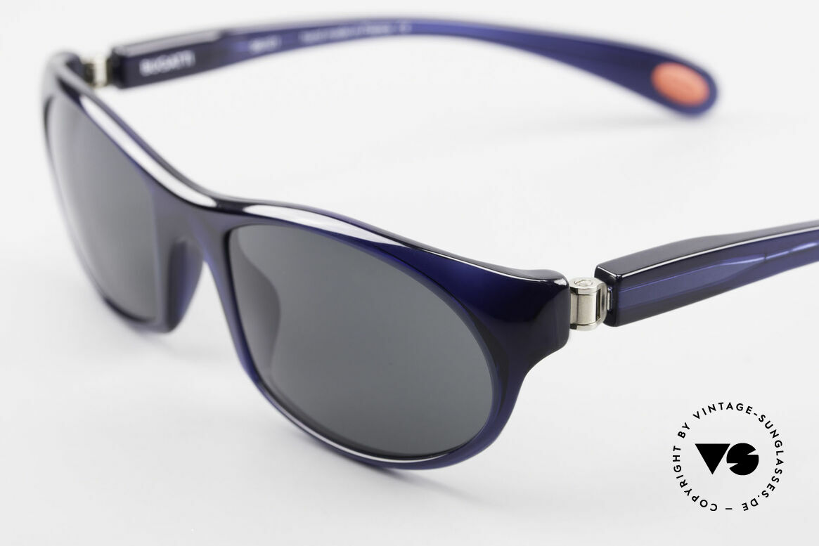 Bugatti 328 Odotype Designer Vintage Sonnenbrille, circa 15 Jahre altes Einzelstück; ungetragen!, Passend für Herren