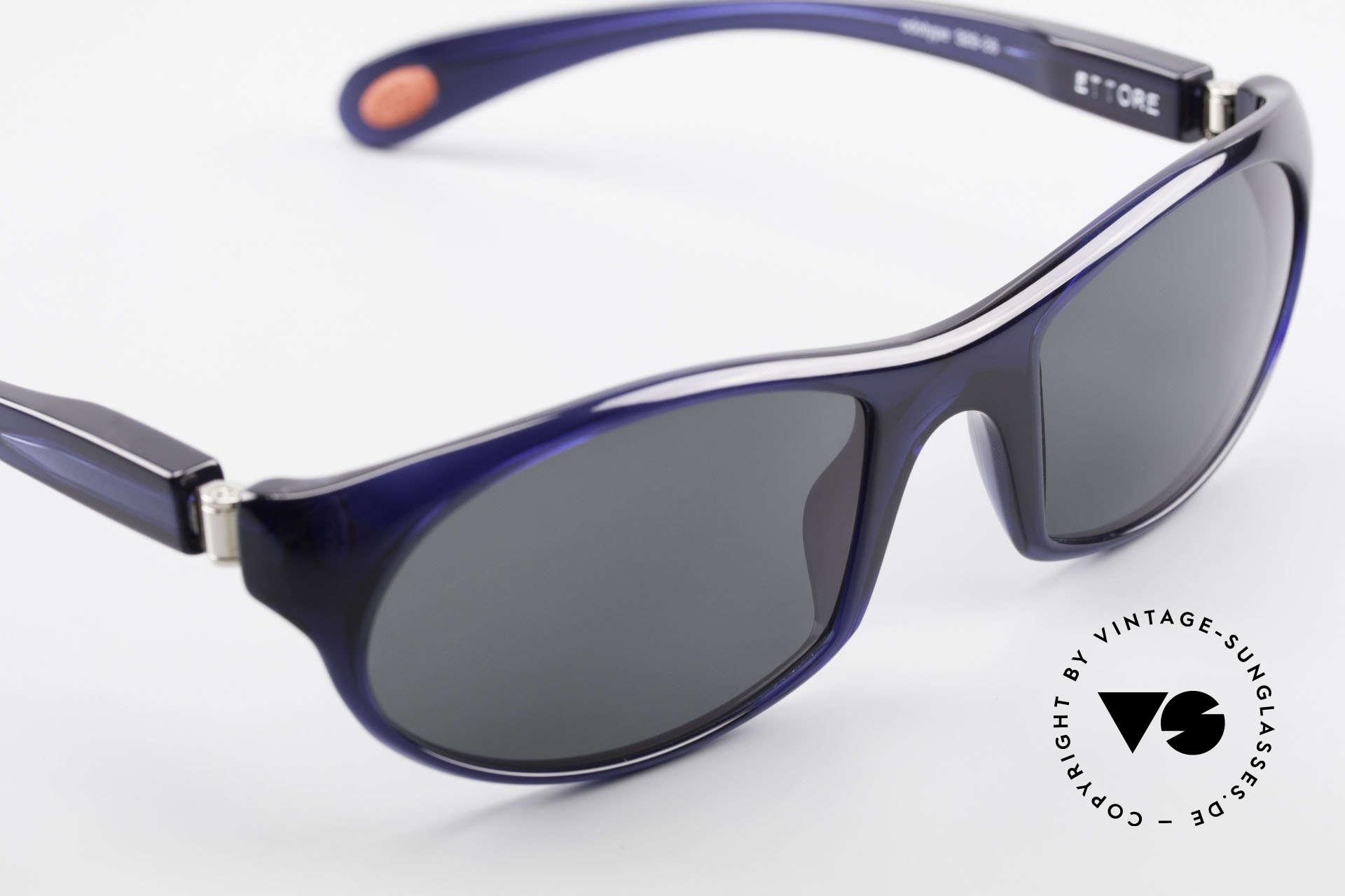 """Bugatti 328 Odotype Designer Vintage Sonnenbrille, sehr edle Rahmenfarbe in einem """"Nachtblau"""", Passend für Herren"""