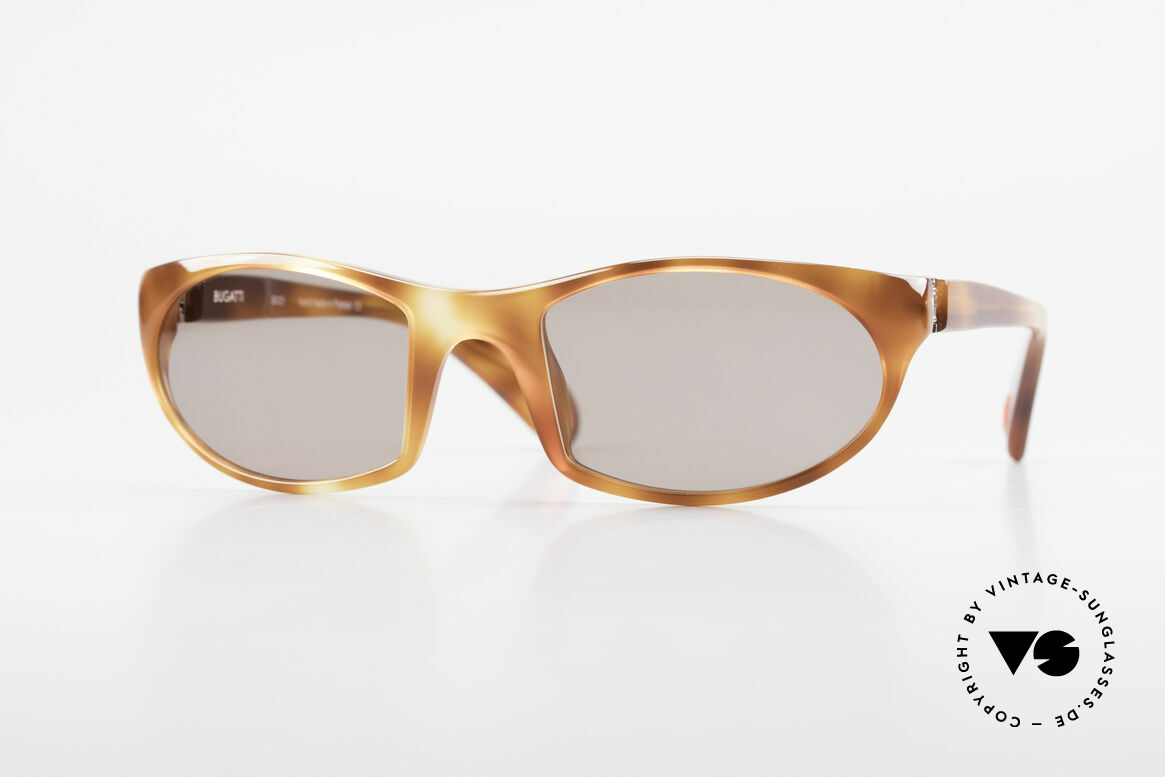 Bugatti 328 Odotype Sportliche Herrensonnenbrille, sportliche high-tech Sonnenbrille von Bugatti, Passend für Herren