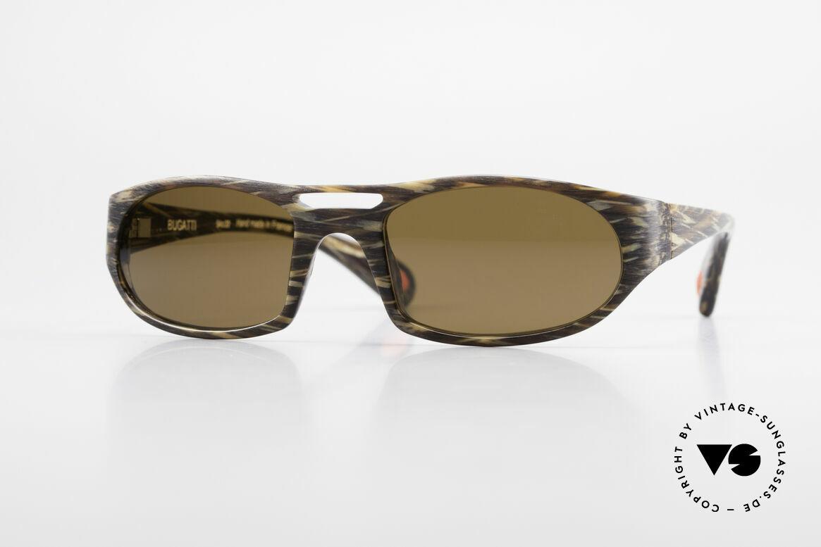 Bugatti 220 Designer Luxus Sonnenbrille, markante high-tech Sonnenbrille von BUGATTI, Passend für Herren