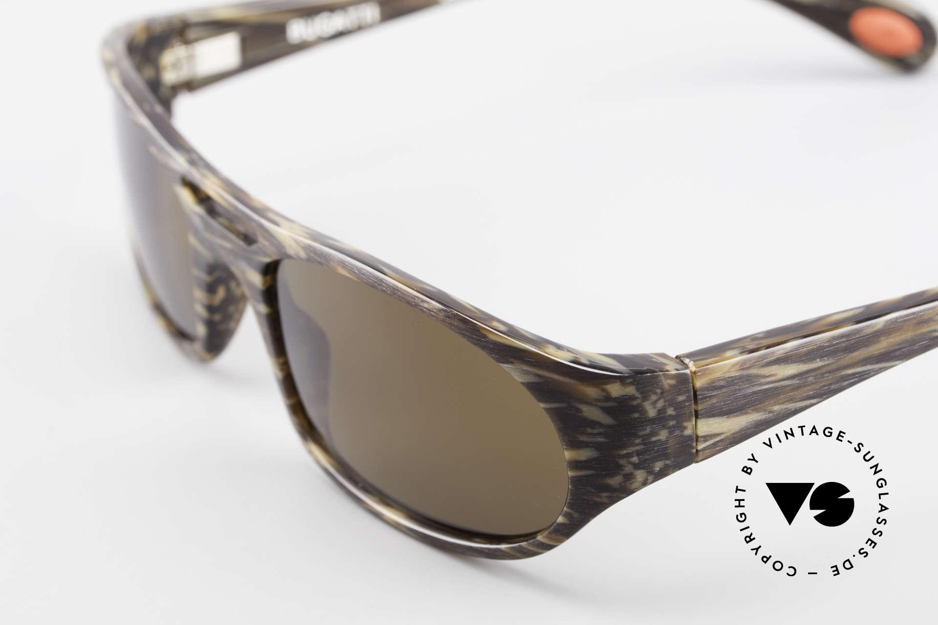 Bugatti 220 Designer Luxus Sonnenbrille, ungetragenes Exemplar inkl. original Verpackung, Passend für Herren
