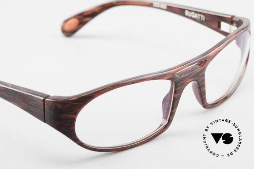 Bugatti 220 Seltene Designer Luxusbrille, Modell ist als Brille oder Sonnenbrille verglasbar, Passend für Herren