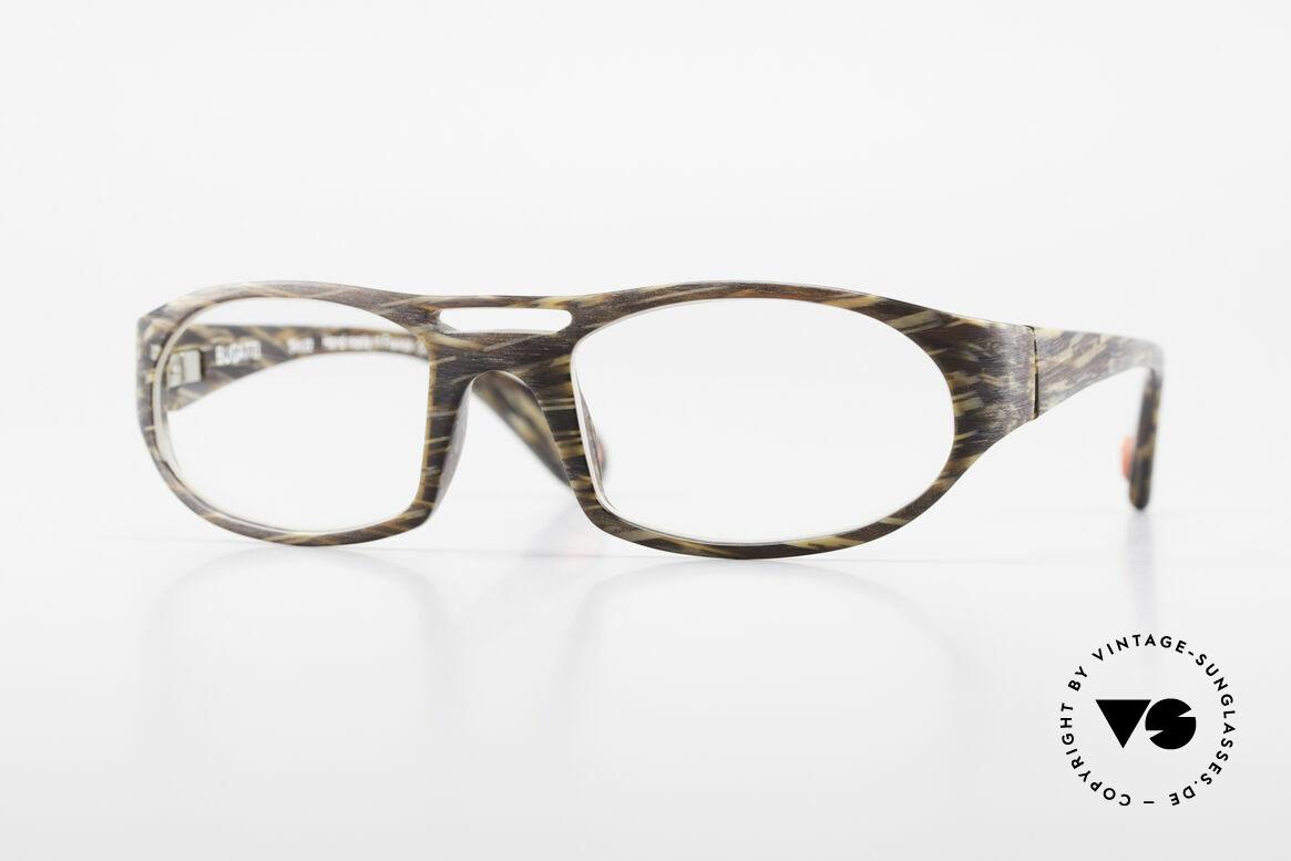 Bugatti 220 Herren Designer Luxusbrille, markante high-tech Brillenfassung von Bugatti, Passend für Herren