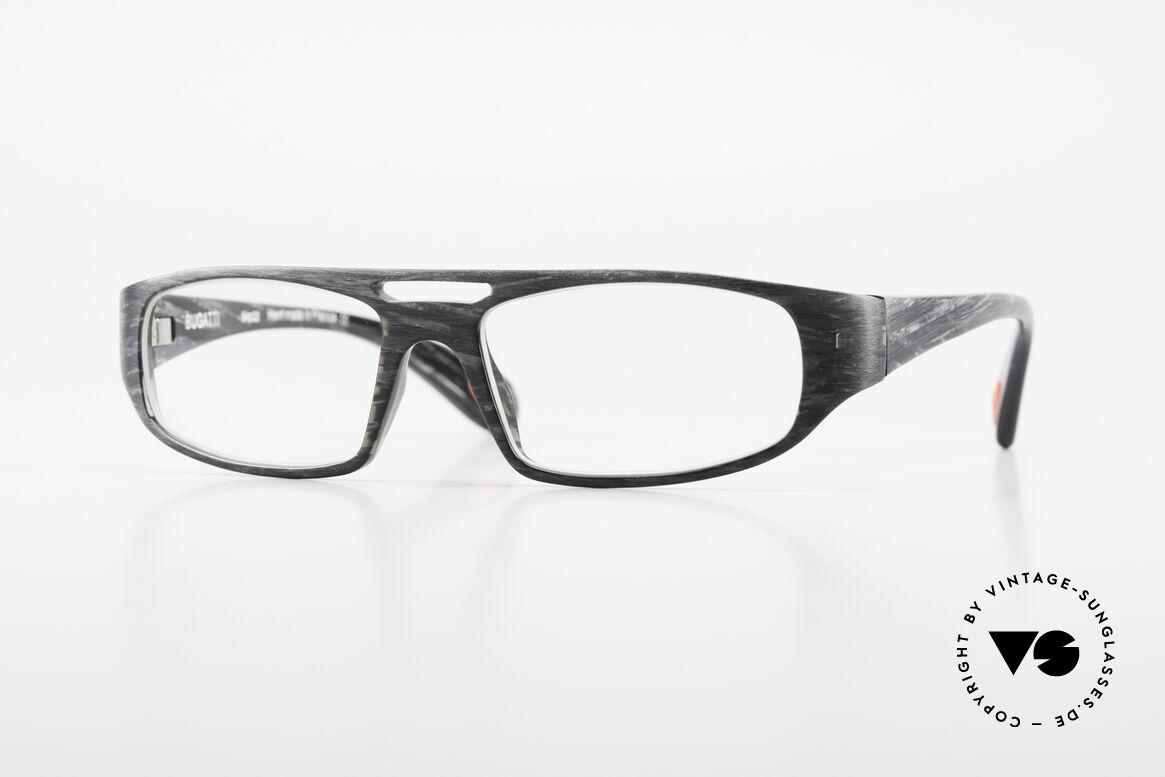 Bugatti 222 Markante Brillenfassung Men, markante vintage Brillenfassung von BUGATTI, Passend für Herren