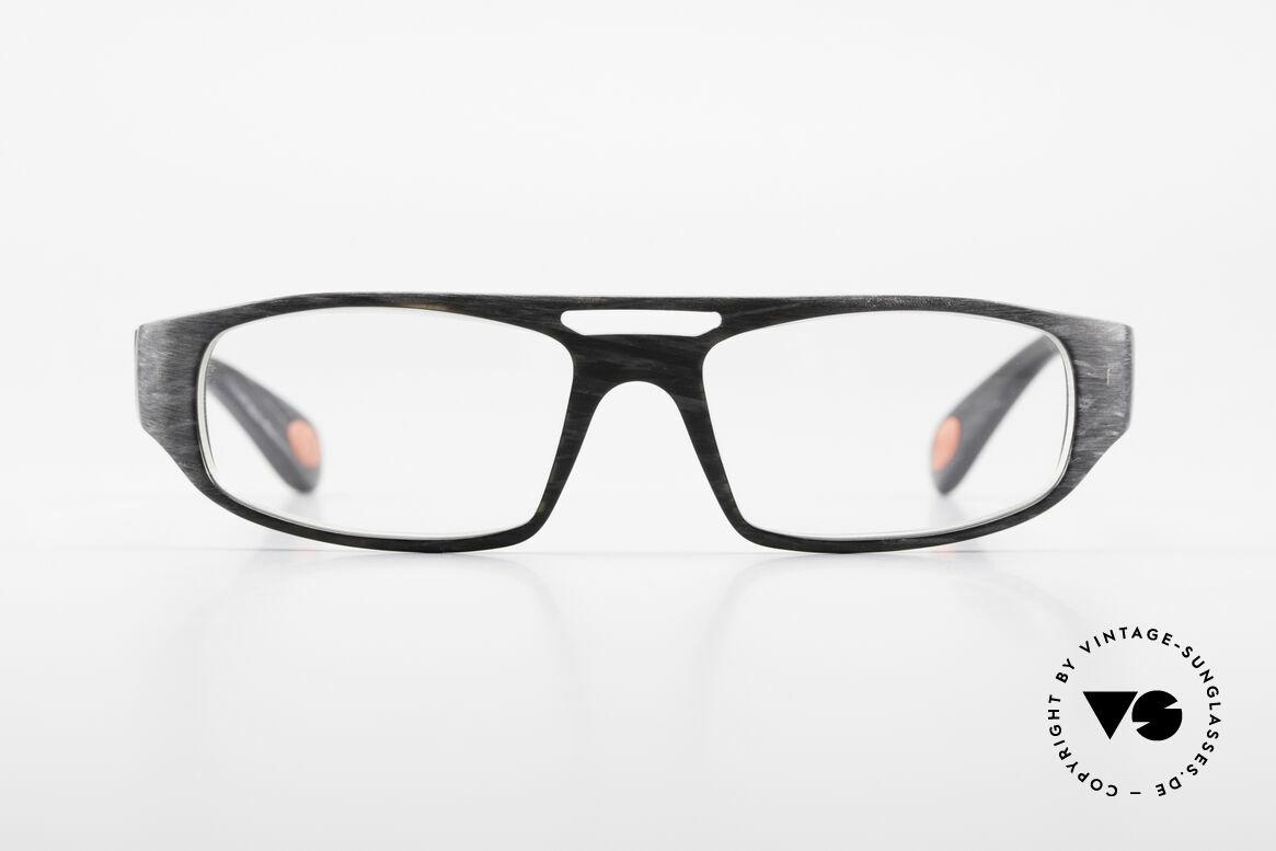 Bugatti 222 Markante Brillenfassung Men, absolute Top-Qualität sämtlicher Komponenten, Passend für Herren