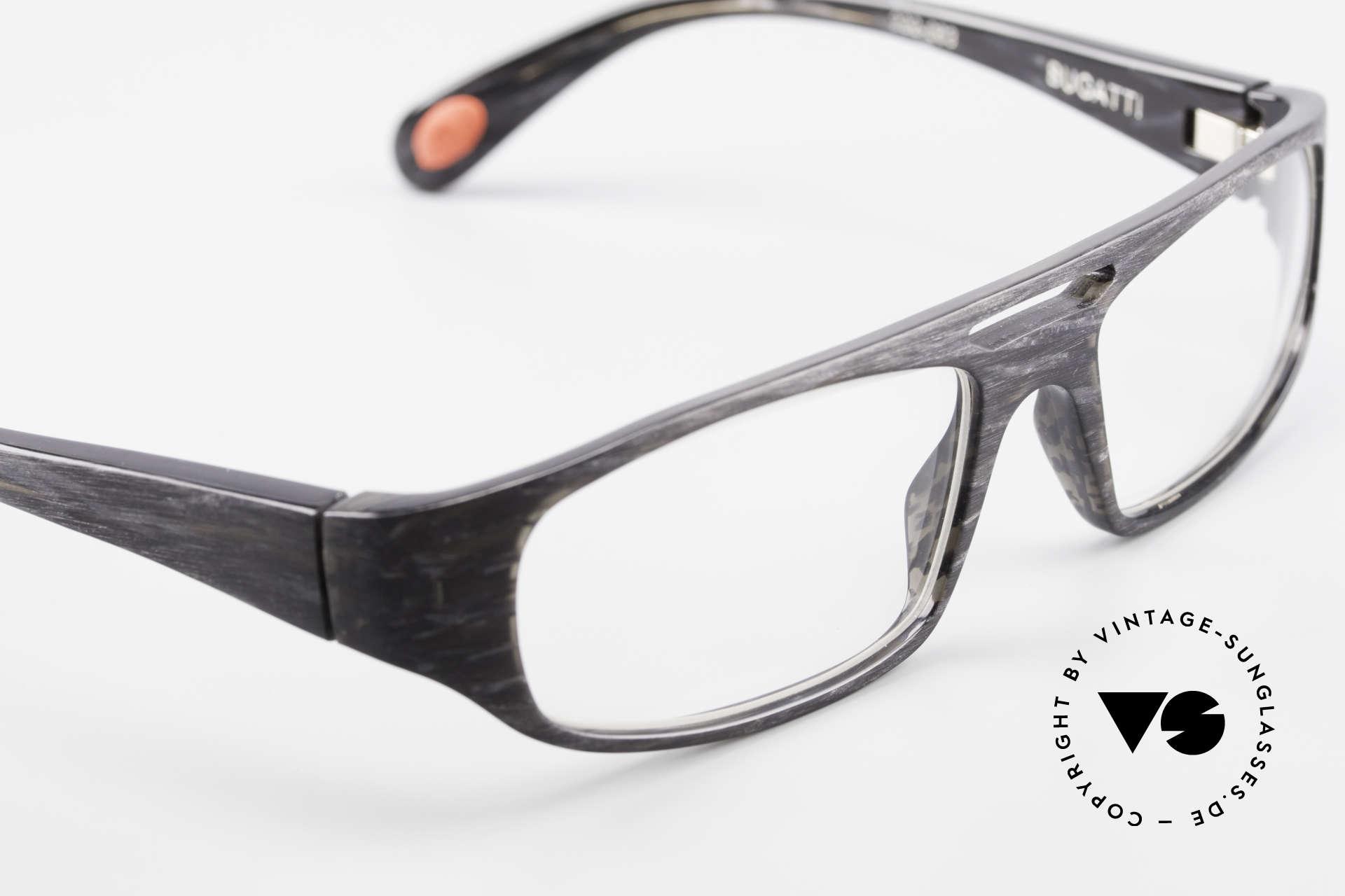 Bugatti 222 Markante Brillenfassung Men, interessantes Rahmendesign und Rahmenmuster!, Passend für Herren