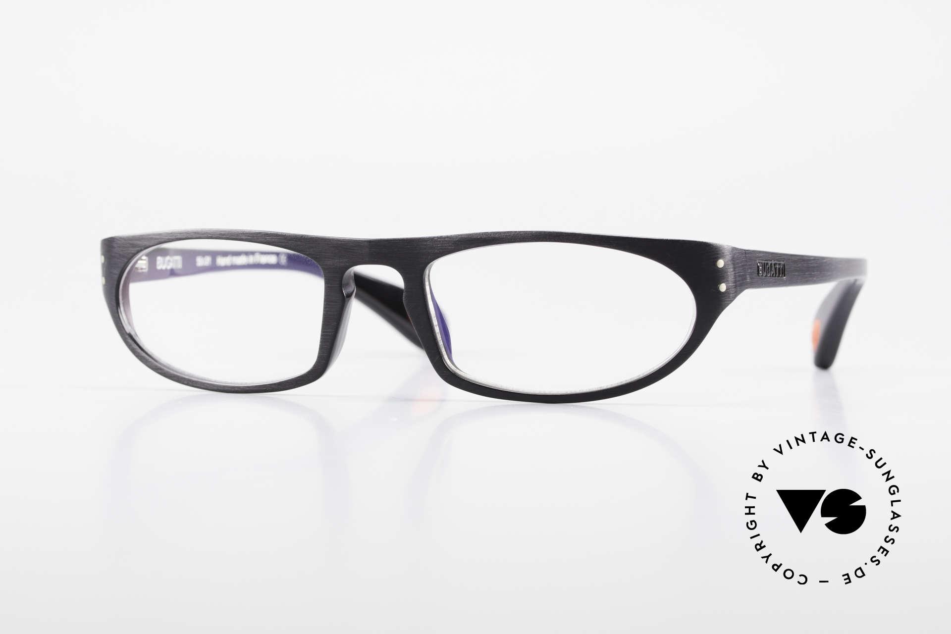 Bugatti 432 Vintage Brille Klassisch Men, markante Herren-Brillenfassung von BUGATTI, Passend für Herren