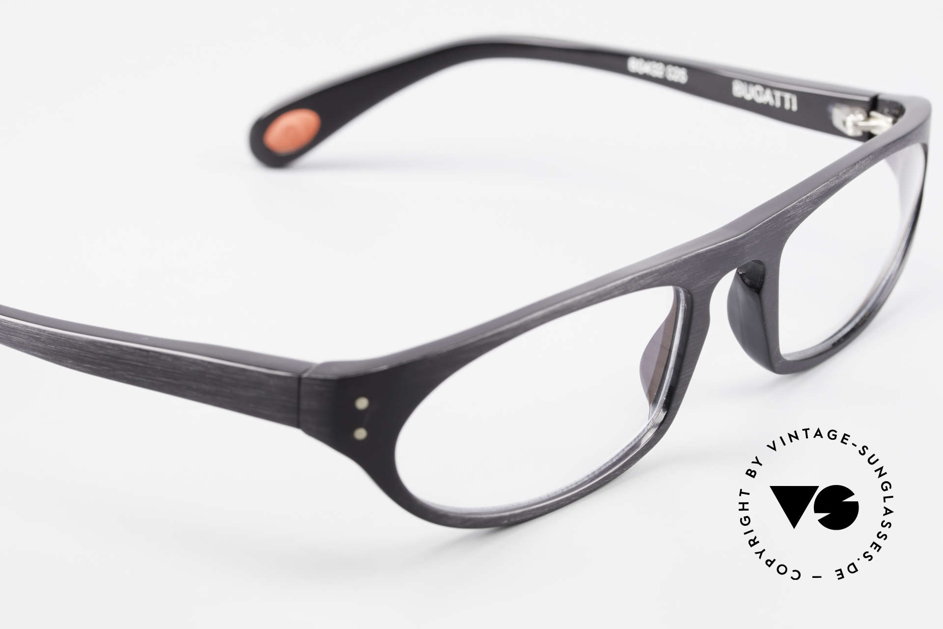 Bugatti 432 Vintage Brille Klassisch Men, Modell ist als Brille oder Sonnenbrille verglasbar, Passend für Herren