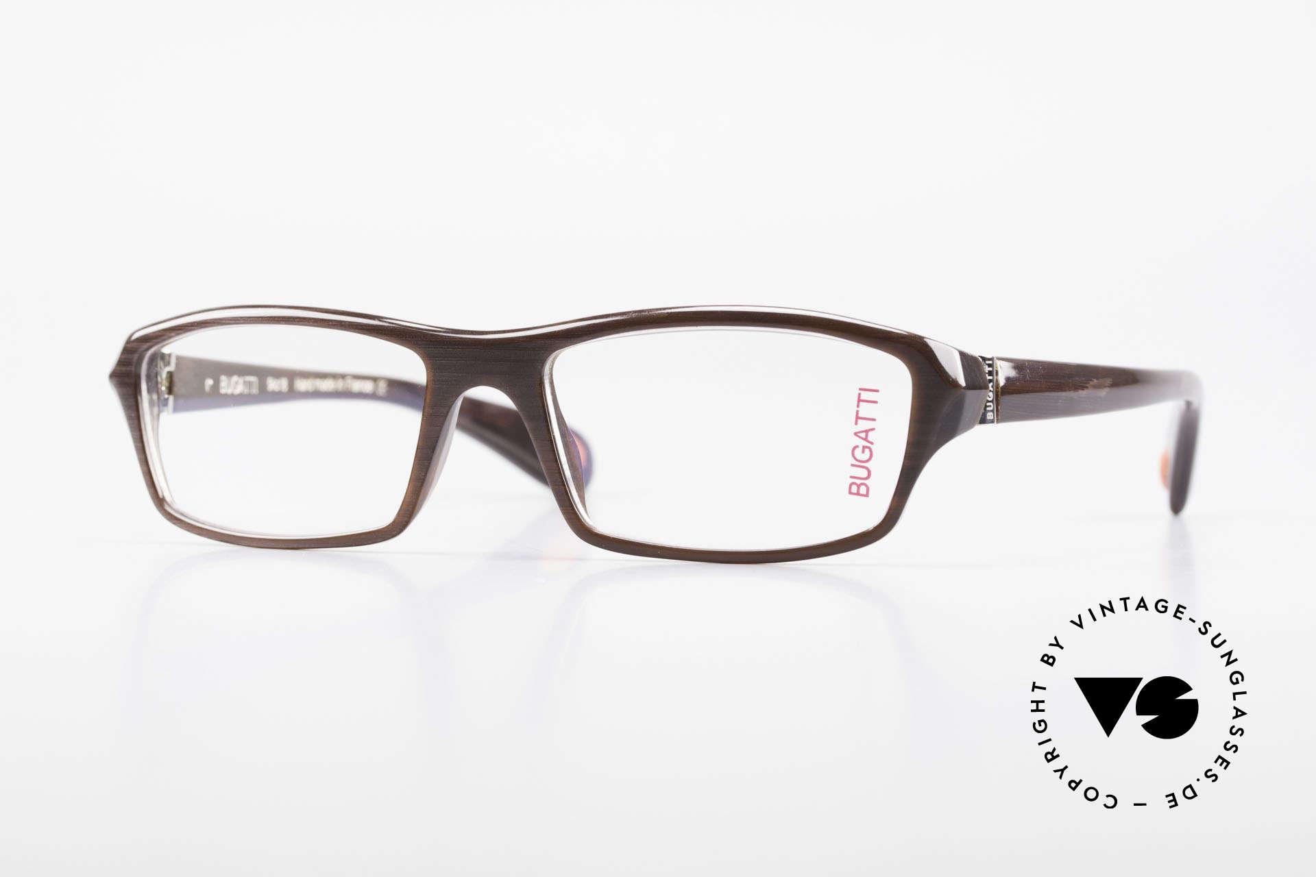 Bugatti 471 Elegante Designerbrille Herren, klassische high-tech Brillenfassung von Bugatti, Passend für Herren