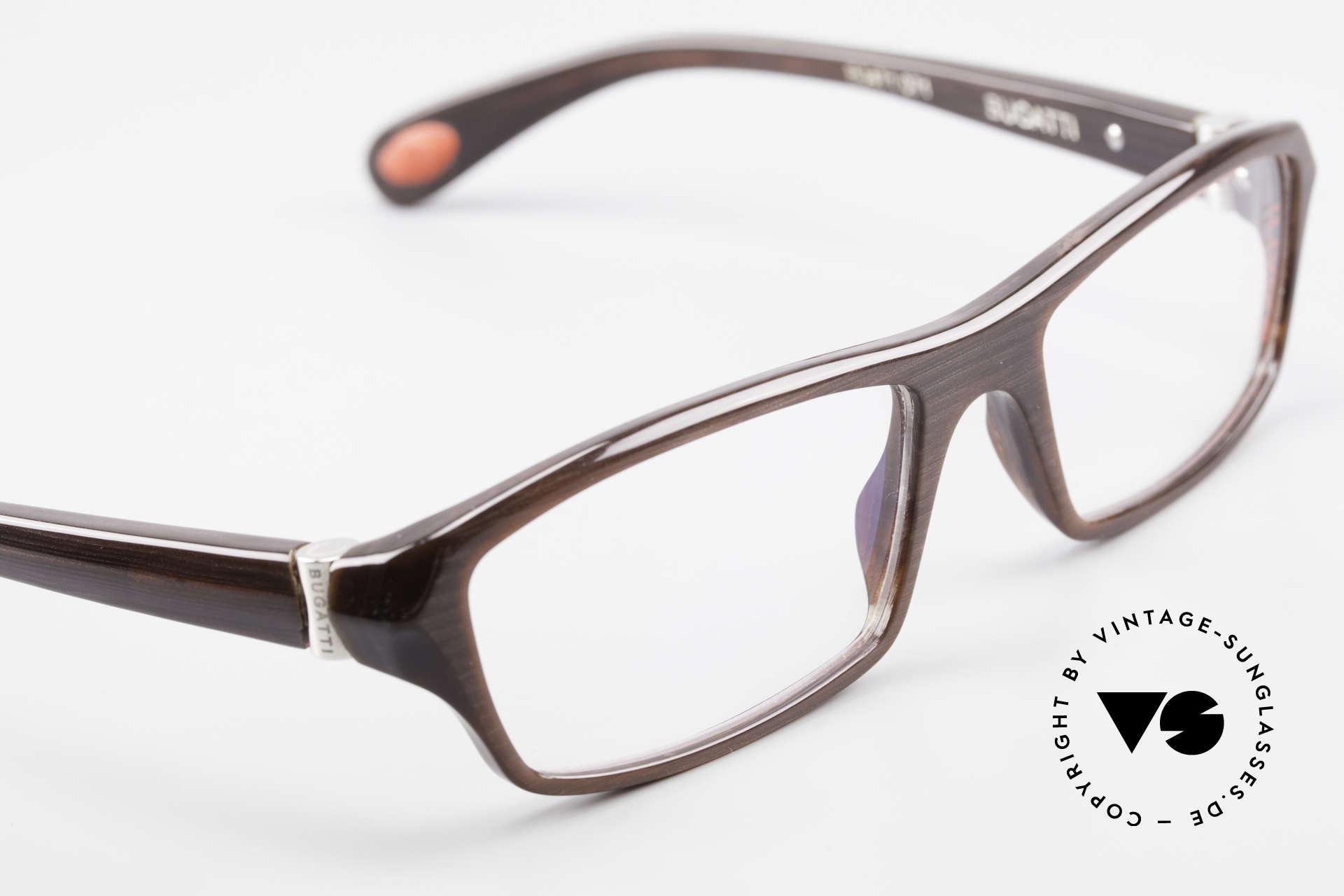Bugatti 471 Elegante Designerbrille Herren, Modell ist als Brille oder Sonnenbrille verglasbar, Passend für Herren