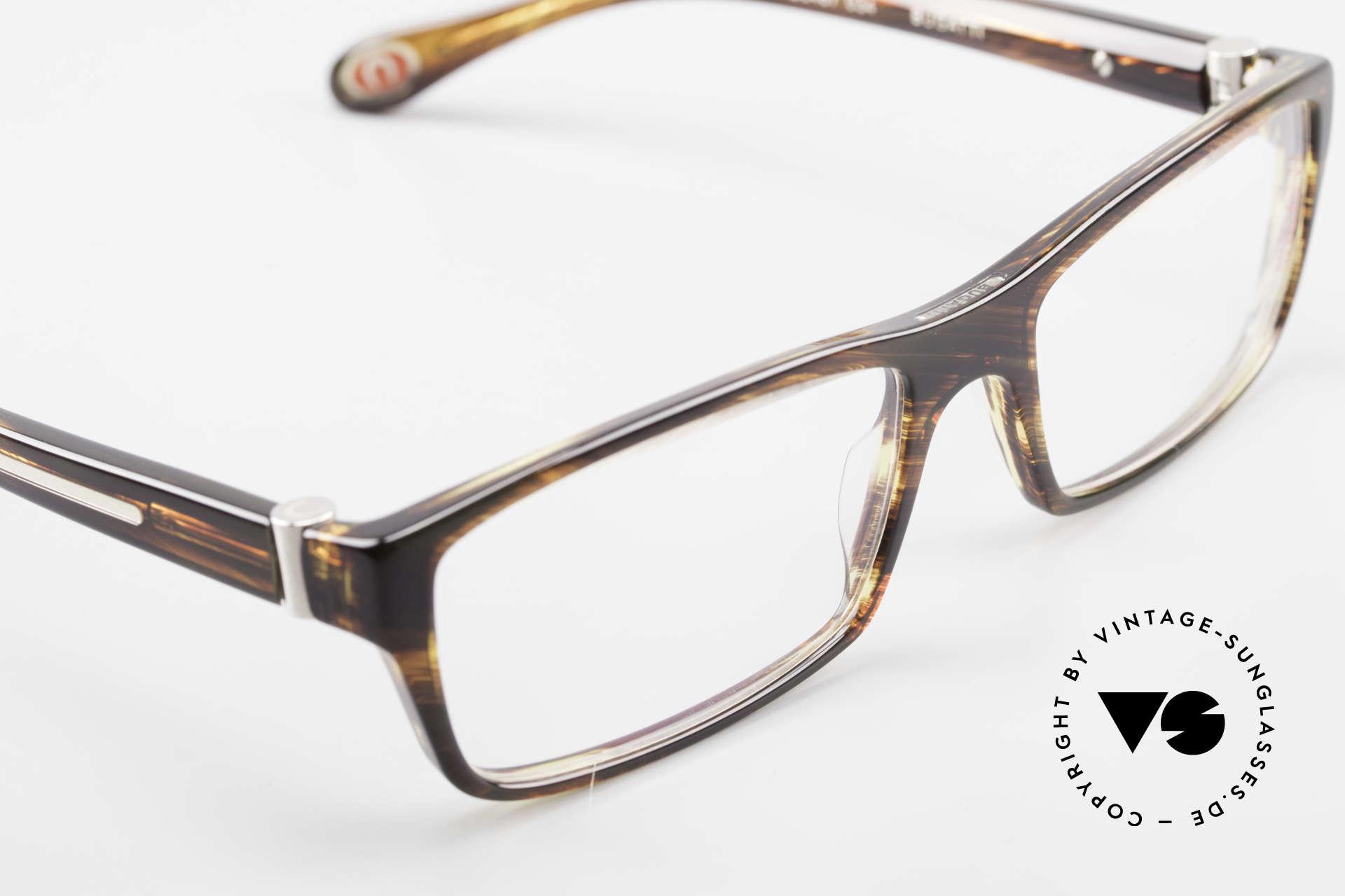 Bugatti 487 Markante Designerfassung Men, Modell ist als Brille oder Sonnenbrille verglasbar, Passend für Herren