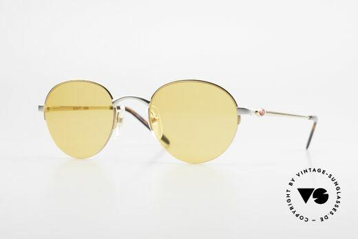 Bugatti 26658 Panto Designer Sonnenbrille Details