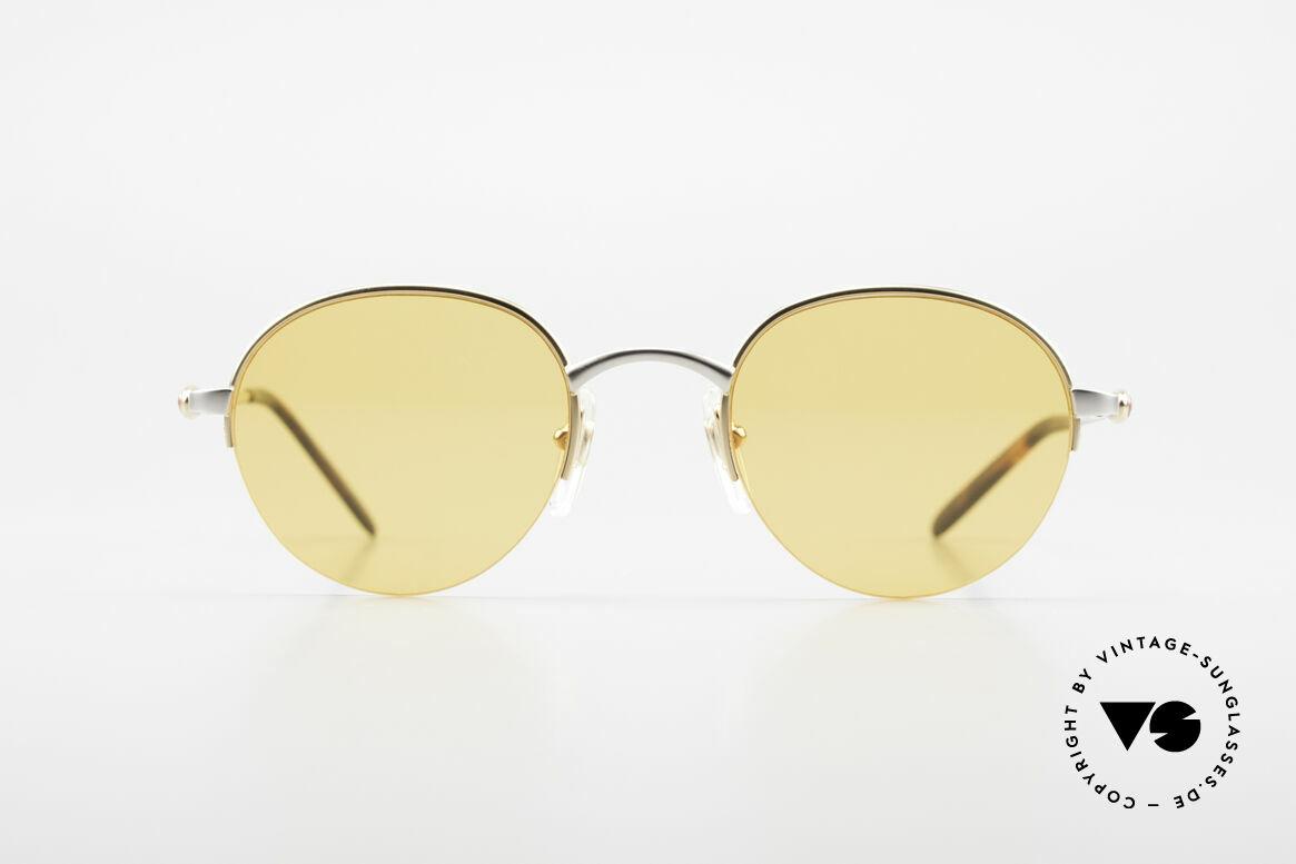 Bugatti 26658 Panto Designer Sonnenbrille, diese Rahmenform ist bei Bugatti eine Rarität, Passend für Herren