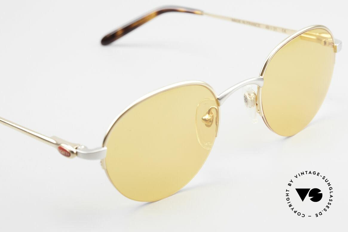 Bugatti 26658 Panto Designer Sonnenbrille, ungetragen (wie alle unsere Bugatti Fassungen), Passend für Herren