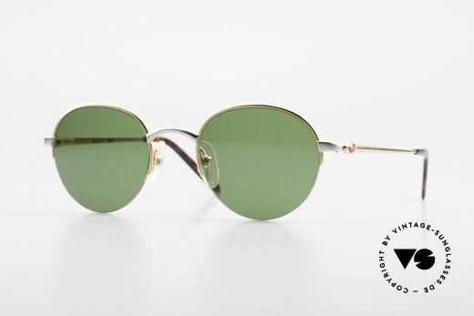 Bugatti 26658 Designer Panto Sonnenbrille Details