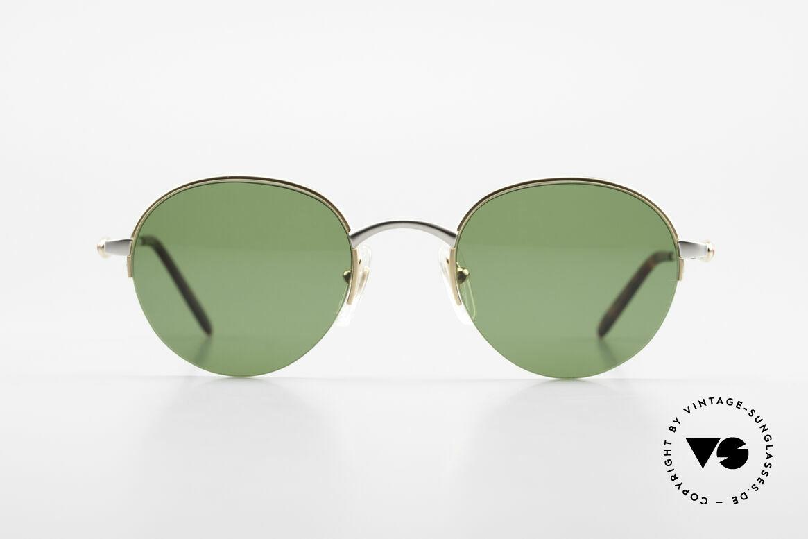 Bugatti 26658 Designer Panto Sonnenbrille, diese Rahmenform ist bei Bugatti eine Rarität, Passend für Herren